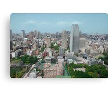 An Aerial View of Tokyo  Canvas Print