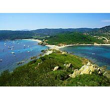 Cape Taillat, Gulf of Saint Tropez, FRANCE - Cote d'azur Photographic Print