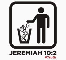 Jeremiah 10:2 WHT by NatanYah Ysrayl