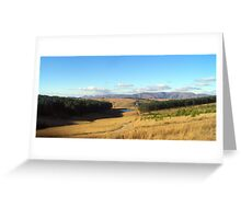 an awesome Gabon landscape Greeting Card