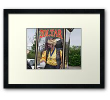 Zoltar the Fortune Teller Framed Print