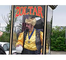 Zoltar the Fortune Teller Photographic Print