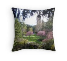 The Butchart Gardens - Victoria, British Columbia, Canada 2008 Throw Pillow