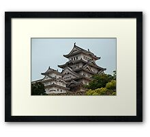 Castle at Hiimeji With Trees  Framed Print