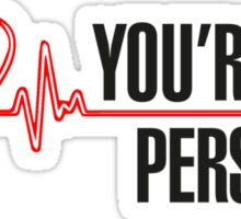 Grey's Anatomy -  You're My Person Sticker