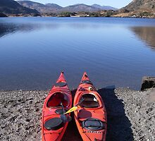 Kayak on Upper Lake Killarney by amuigh-anseo