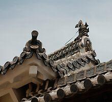 Roof Detail, Himeji Castle, Japan  by jojobob