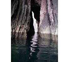 Sea cave near Dingle Co.Kerry Photographic Print