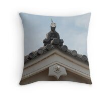 Roof Detail, Himeji Castle  Throw Pillow