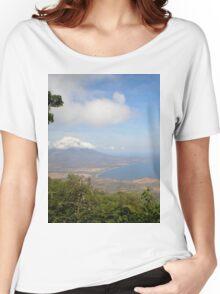 a historic Gabon landscape Women's Relaxed Fit T-Shirt