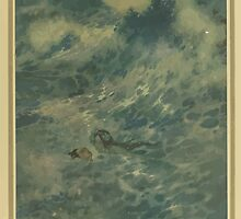 Stories from Hans Andersen - Art by Edmund Dulac - 1911 - 0183 - The Mermaid - He Must Have Died by wetdryvac