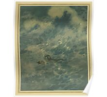 Stories from Hans Andersen - Art by Edmund Dulac - 1911 - 0183 - The Mermaid - He Must Have Died Poster
