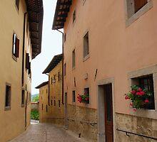 Street in Castel Monte by jojobob
