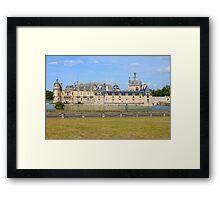 Chateau de Chantilly (1560) Framed Print