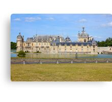 Chateau de Chantilly (1560) Canvas Print
