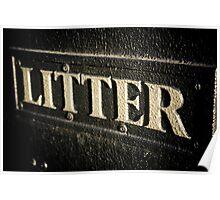 Artistic Litter Poster