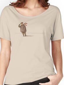 Cold Wind Light Shirt Women's Relaxed Fit T-Shirt