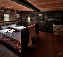 Old Rustic Bedroom by Mario Curcio