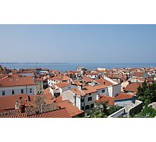 Piran Rooftops  Photographic Print