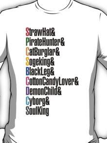 One Piece - Straw Hat Crew! T-Shirt