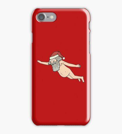Rick & Morty - Giant Naked Sky Santa! iPhone Case/Skin