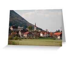 Planina  Greeting Card