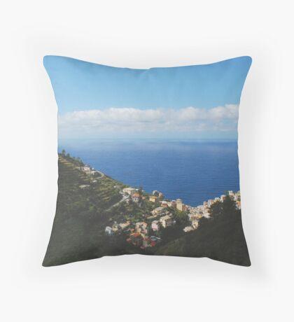 Riomaggiore Throw Pillow