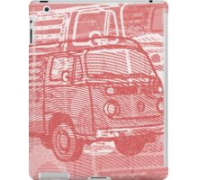 Red Bay Campervan Montage iPad Case/Skin