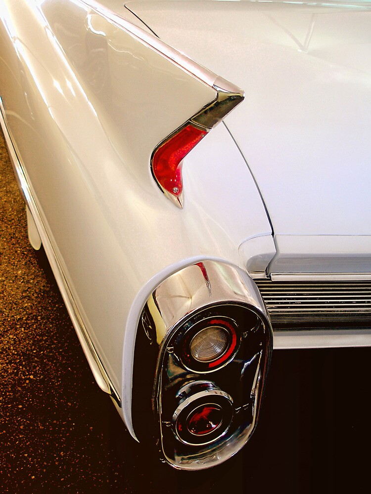 1960 Caddy Fins by TWindDancer
