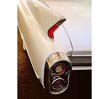 1960 Caddy Fins Photographic Print