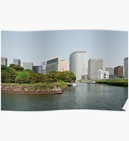 Tokyo Water Front, Japan  Poster