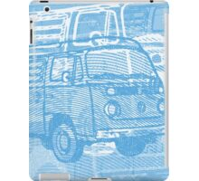Blue Bay Campervan Montage iPad Case/Skin