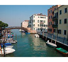 Backstreet, Venice, Italy  Photographic Print