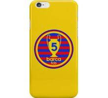 FC Barcelona - 5 times iPhone Case/Skin