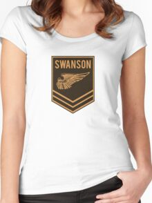 Parks and Recreation - Swanson Ranger Club Women's Fitted Scoop T-Shirt