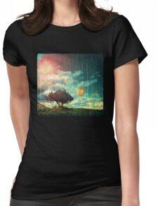 Birch Dreams T-Shirt Womens Fitted T-Shirt