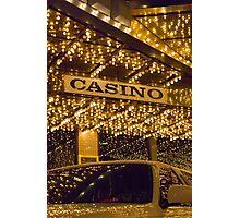 Casino Limo Photographic Print