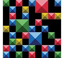 Super tetris Photographic Print