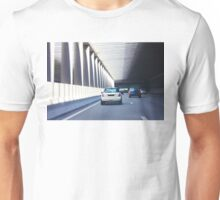 Pont de l'Alma tunnel where on 31/8/97, Princess Diana was fatally killed Unisex T-Shirt