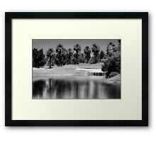 We'll Dance in the Water Someday Framed Print