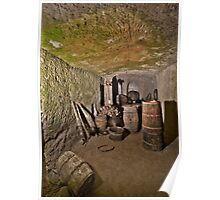 Old wine cellar Poster