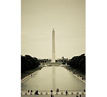 Reflecting Monument Photographic Print