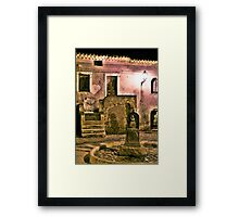 Old Fountain Framed Print