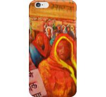 10 coca cola protest, india 33'' x 48'' iPhone Case/Skin