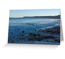 Sandsend Bay Greeting Card
