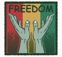 "Martin Luther King Black History Month ""Freedom"" by HolidayT-Shirts"