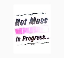 Hot Mess Womens Fitted T-Shirt