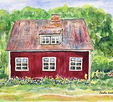 Swedish Cottage by Caroline  Lembke