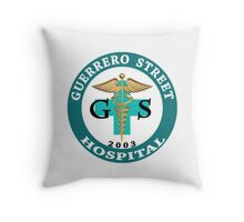 The Room - Guerrero Street Hospital Throw Pillow