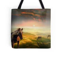 Golden Tote Bag